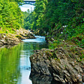Bridge Over Quechee Gorge-vermont  by Ruth Hager