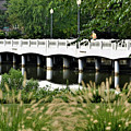 Bridge Over Silver Lake - Rehoboth Beach Delaware by Kim Bemis