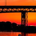 Bridge Over Sunset by Kenneth Sponsler