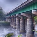 Bridge Over The Delaware River by Eleanor Bortnick