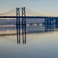 Bridge Over The Mississippi by Deb Fedeler