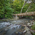 Bridge Over The Pike River by Thomas Visintainer
