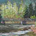 Bridge Over The Poudre by Mary Benke
