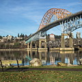 Bridge Over The River by Alex Lyubar