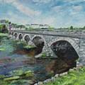 Bridge Over The River Laune, Killorglin Ireland by Helen Ramsay