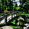 Bridge Over The Stream by Robert Kinser