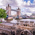 Bridge Over The Thames by Geoff Eccles