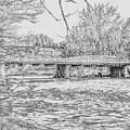 Bridge Over The Vermilion by George Noleff