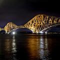 Bridge Over Water Lights. by Elena Perelman
