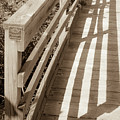 Bridge Railing by Lori Lynn Sadelack