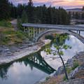 Bridge Reflection by Idaho Scenic Images Linda Lantzy