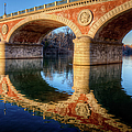 Bridge Reflection On River by Andrea Mucelli