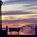 Bridge Reflection by Vicki Jauron