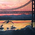 Bridge Silhouette  by Brandon Miller