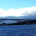 Bridge Sky by Melissa KarVal