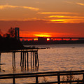 Bridge Sunset by Bill Ades