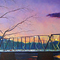 Bridge Sunset by Robert Henne