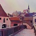 Bridge To Cesky Krumlov by Jenny Armitage