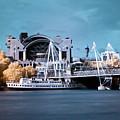 Bridge To Charing Cross by Helga Novelli