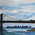 Bridge To Europe by Patricia Arroyo