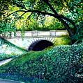 Bridge To New York by Elizabeth Robinette Tyndall