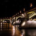 Bridges Of Budapest by Jaroslaw Blaminsky
