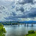 Bridges Of Chattanooga Tennessee by Reid Callaway