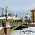 Bridges Of Petersburg by Yury Bashkin