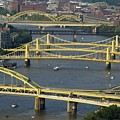 Bridges Of Pittsburgh by Frozen in Time Fine Art Photography