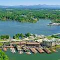 Bridgewater Plaza, Smith Mountain Lake, Virginia by The American Shutterbug Society