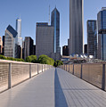 Bridgeway To Chicago by Steve Gadomski