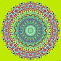 Brigadoon No. 7 Mandala by Joy McKenzie