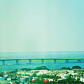 Brigantine Bridge - New Jersey by Bill Cannon