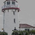 Brigantine Lighthouse by Trish Tritz