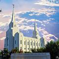 Brigham City Utah Temple by Kay Hodges