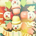 Bright Beaming Clown Show Act by Jorgo Photography - Wall Art Gallery