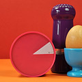 Bright Colorful Breakfast Trio by Milleflore Images