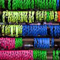 Bright Leather Bracelets by Amy Jackson
