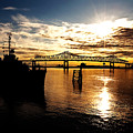 Bright Time On The River by Scott Pellegrin