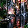 Bright Waterfalls by Christopher Holmes