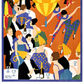 Brightest London Vintage Poster Restored by Carsten Reisinger