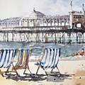 Brighton England by Tony Belobrajdic