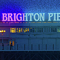 Brighton Pier And The Starlings by Chris Lord