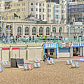 Brighton Seaside  by Keith Armstrong