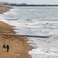 Brighton Shore by Keith Armstrong