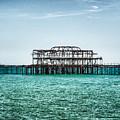 Brighton West Pier by Paul Stevens