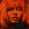 Brigitte Bardot Love Pop Art by Felix Von Altersheim