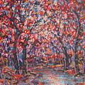 Brilliant Autumn. by Leonard Holland