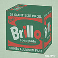 Brillo Box Colored 13 - Warhol Inspired by Peter Potamus