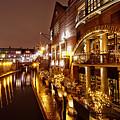 Brindleyplace At Night by MSVRVisual Rawshutterbug
